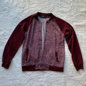 Forever 21 Maroon Jacket